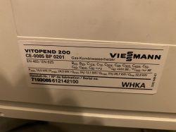Kocioł Viessmann Vitopend 100 whea, usterka F9