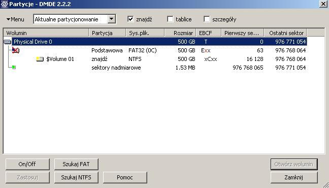 """""""Usuni�cie"""" partycji podczas instalacji Win 98."""