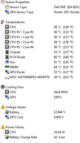 DELL Precision M4500 FAN ALWAYS ON 2600RPM - Dell Community