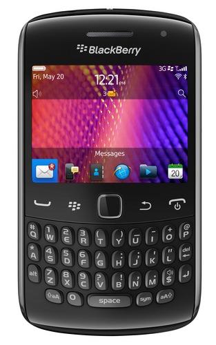 Smartfony RIM Curve 9350, 9360 i 9370 z systemem BlackBerry 7