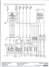 Golf IV 1.9TDI - Nie migają kierunki po zamknięciu, vag moduł, Blok 11- otwarty