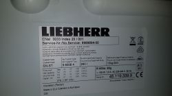 Lodówka Liebherr CNsl 3033 Comfort - nie chłodzi zamrażalnik