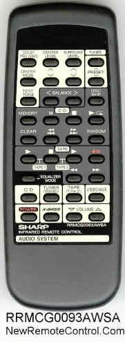 Sharp CD-C470 - jaki pilot?