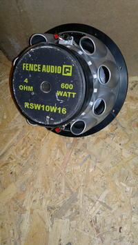 Nieznany głośnik Fence Audio