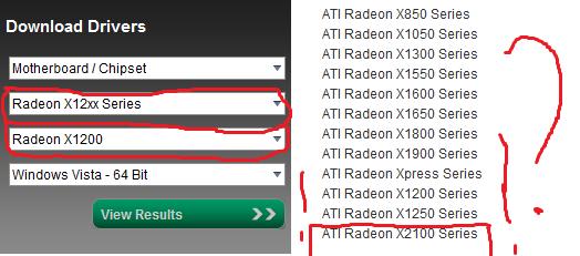 Ati Radeon 2100 Driver Vista Download
