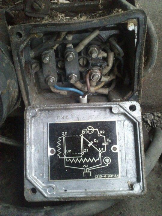 Jednofazowy silnik -pomiary