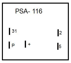 Jak pod��czy� przerywacz kierunk�w PSA-116