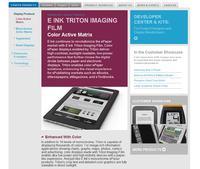 Amazon Kindle nowej generacji z kolorowym ekranem e-paper?