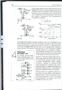 Podwójny filtr górnoprzepustowy z wykorzystaniem wzmacniacza operacyjnego