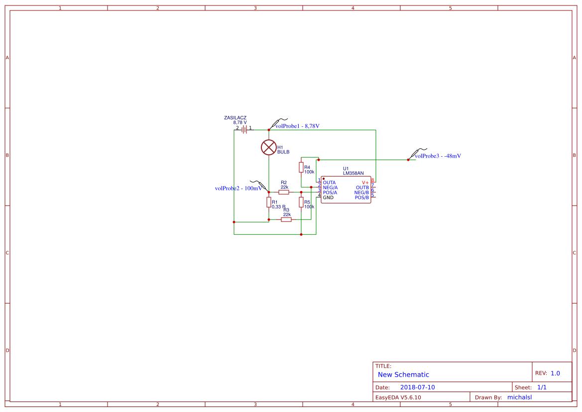 LM358 dziwne wartości na wyściu - elektroda pl