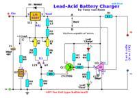 akumulator żelowy z latarki tirros jako zasilanie zapłonu ogar 205