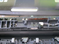 Konica Minolta Magicolor 1600W - uszkodzony czujnik zakleszczenia papieru