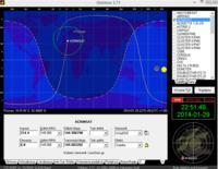 Układ nadążny do automatycznego śledzenia wybranego satelity