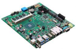 MANO311 - płyta Mini-ITX z Celeron N3350 i 6 portami UART