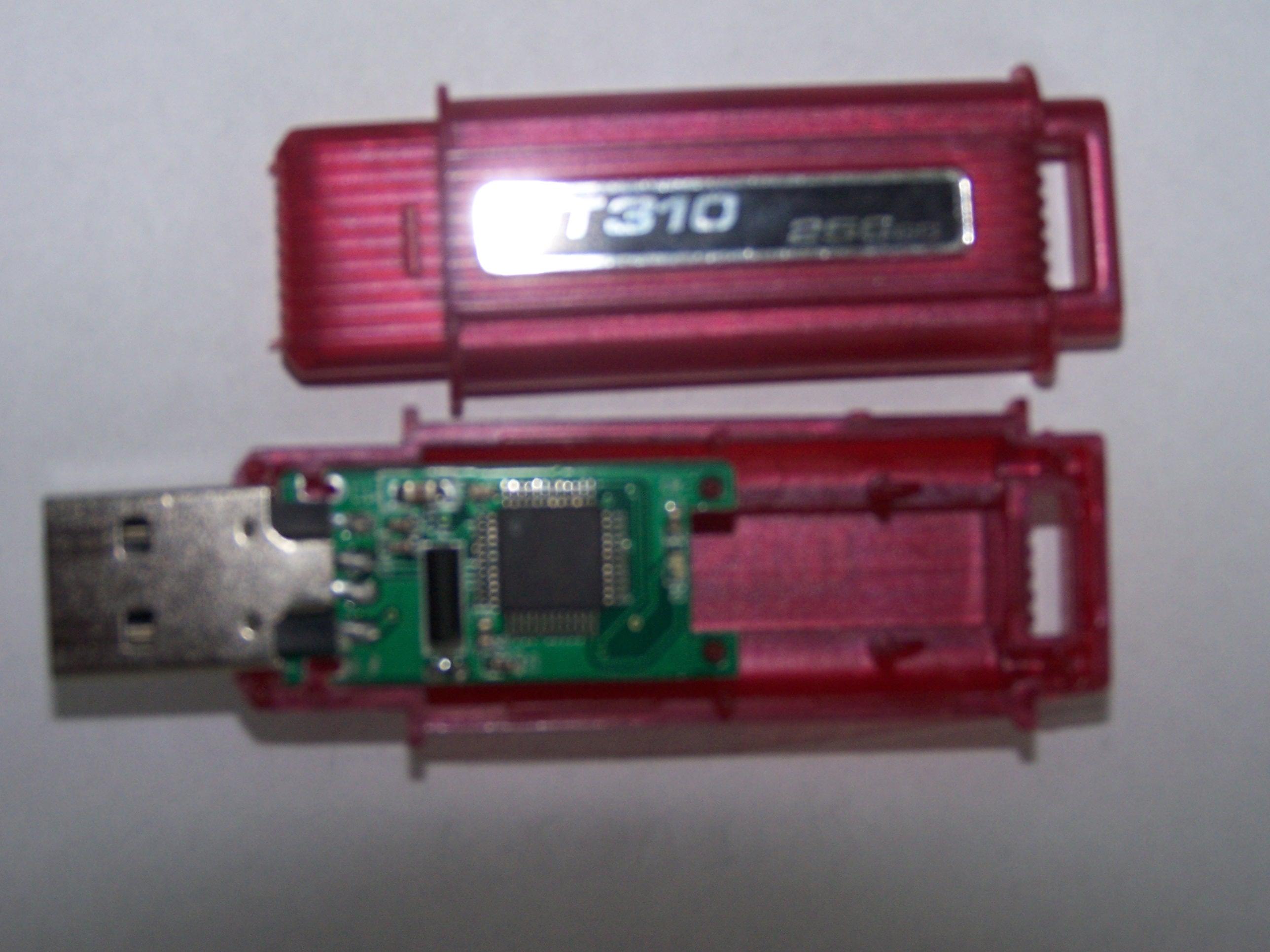 Kingston DT310 - b��d w zapisie i odczycie danych
