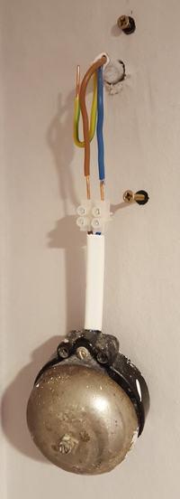 Nie działający poprawnie dzwonek przewodowy (Zamel GNT-921 na 8V AC)