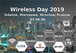 [03-06.06.2019] JM - Wireless Day - Gdańsk, Warszawa, Wrocław, Kraków