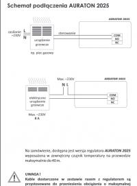 Vitopend 100w + auraton 2025 rtf schemat, czyli jak podlaczyc?