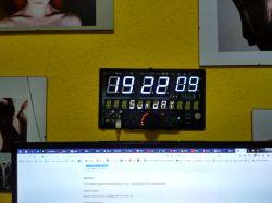 Kolejny zegarek do Raspberry Pi