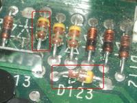 Gamma 2a Grundig typ diody? -