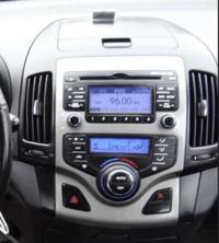 Hyundai I 30 wymiana panelu z klimatyzacją i radiem