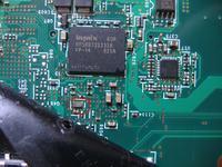Lenovo R61 - identyfikacja elementu na płycie głównej