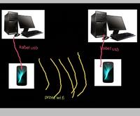Jak pod��czy� 2 komputery telefonami przez wifi