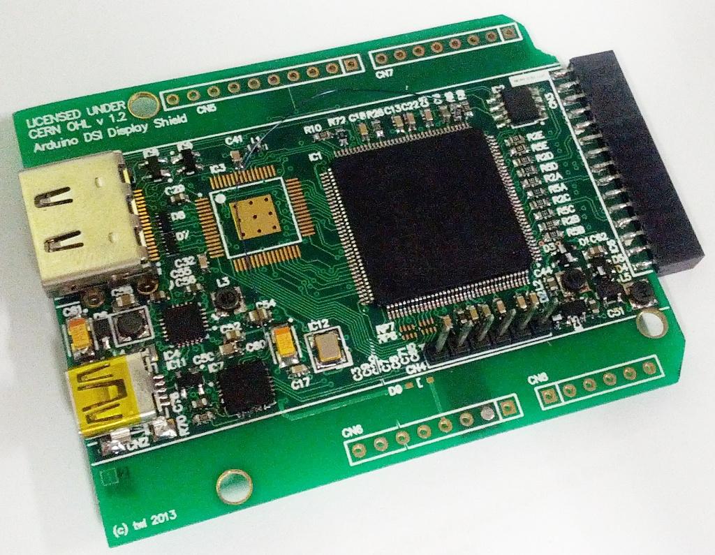 Adapter HDMI -> MIPI DSI (wy�wietlacze ze smartphone'�w)