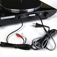 Podłączenie Denon'a DP-300F - Podłączenie gramofonu do mini wieży - zdjęcia