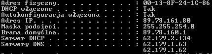 Upc + Dlink DI-524, konfiguracja 192.168.0.1 nie wchodzi, brak internetu.