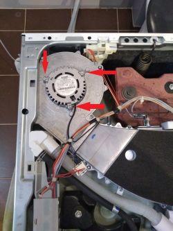 Bosch WVG30441EU/03 - Pralko-suszarka buczy podczas suszenia