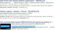 Omnia i900 - Samsung Omnia i900. Zakupiono nową baterie. Może źle ją ładuję...