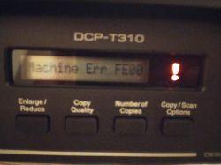Brak języka polskiego w drukarce Brother DCP-T310