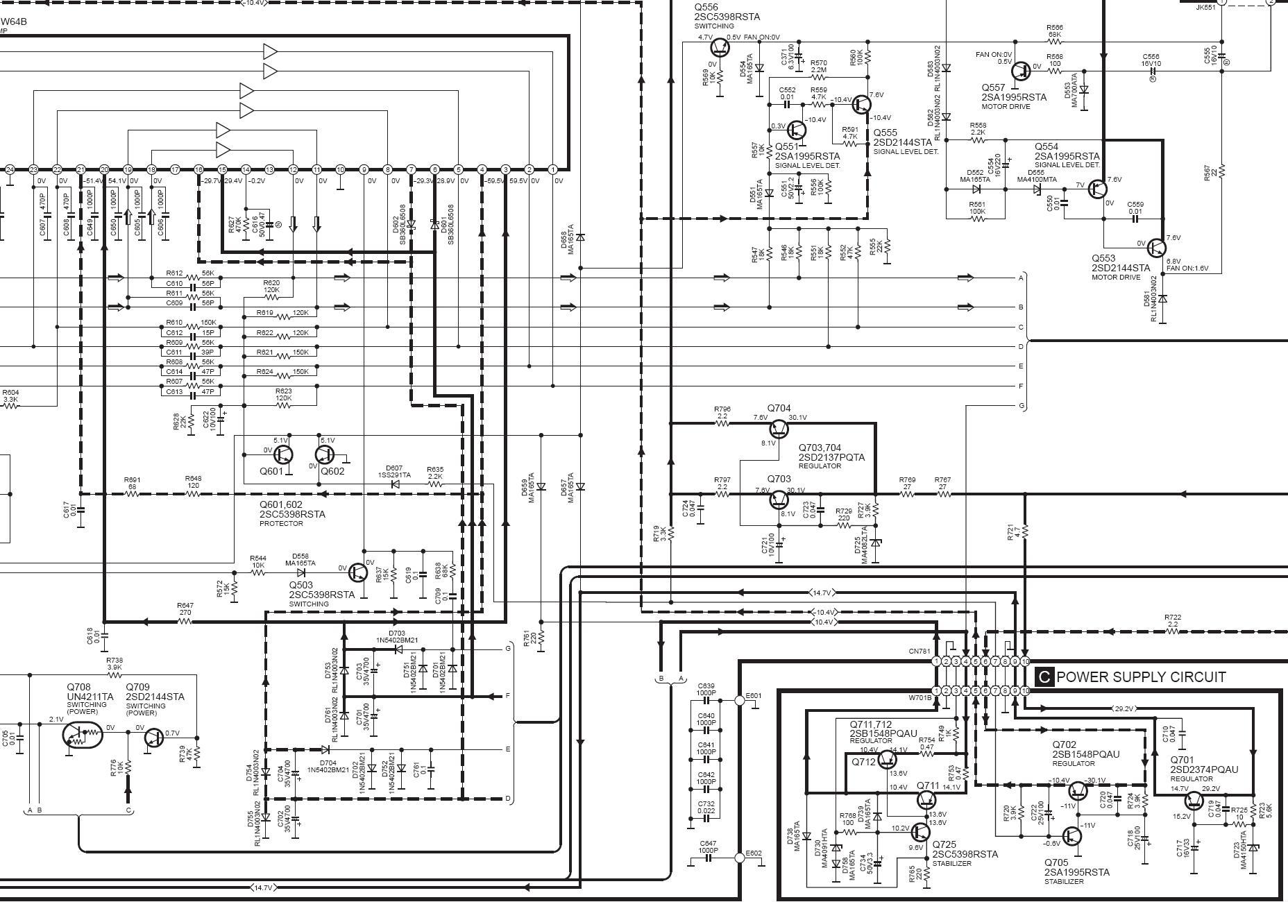 problem ze wzmacniaczem - technics f-61