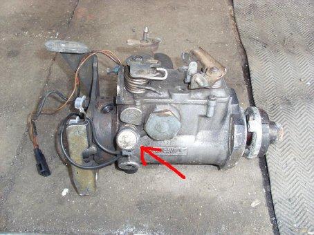 FORD ESCORT 1,8 D - regulacja zapłonu pompy wtryskowej