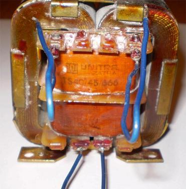 Nawijanie własnoręcznie transformatora głośnikowego