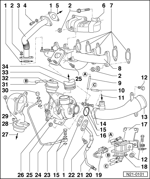 7 3 Idi Parts Diagram