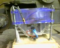 Generator HV na NE555 + lampa plazmowa v2.0