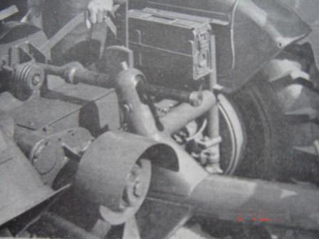 Traktorek Sam z silnikiem WSK 125 i skrzynia ESCORT