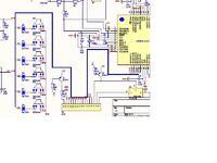atmega16 -na jednym porcie LCD i klawiatura