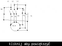 Podłączenie silnika 3f o oznaczeniu y/y 430/1370