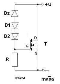 Układ ładowania akumulatora oraz odpowiednik EWR do Simsona