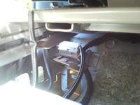 Ford Galaxy 1999 co jest pod siedzeniem (Airbag)