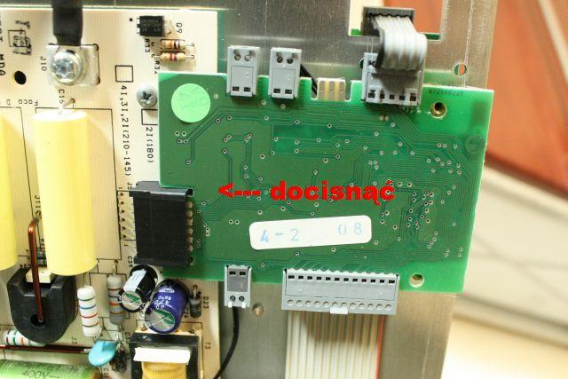 Amica PI6516PF pole nie wykrywa garnka