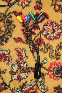 Wejście video YRYBY i stara kamera wysyłająca sygnał RGB