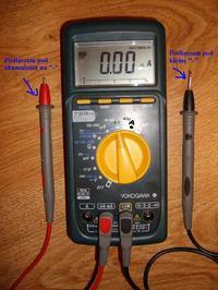 Rozładowuję się akumulator Passat B4 - podłączenie miernika
