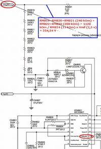 Panasonic TX-37LZD80 - Bardzo wysokie napiecie