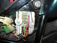 Honda CB500 regulator napięcia motocykla + dojazd na uszkodzonym regulatorze