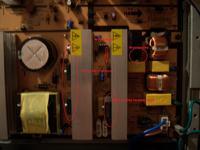 Samsung LCD LE40S62BX/XEH- grzeje się tranzystor HOT-a