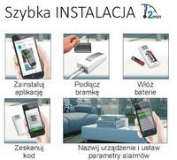 Centralka - Czujnik temperatury www, android, powiadomienia